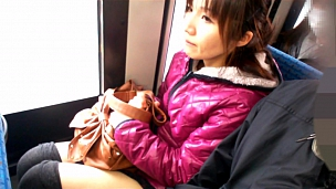 Asian Whores Love To Be Touched In Public Transportation - Scene 3