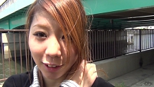 Breathtaking Asians Masturbate In Public - Scene 7