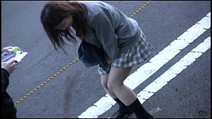 Awesome Asian Honies Leaking In Public - Scene 1