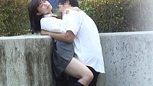 Asians Get Nasty Outdoors - Scene 5