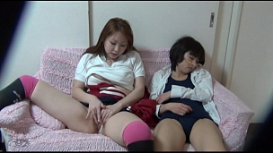 Jill Off Beside A Friend - Scene 11