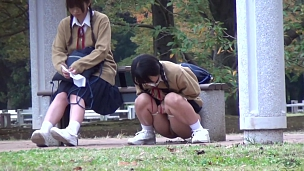 Urination Of Co-Eds In Tokyo - Scene 4