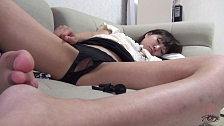 College Sluts Strip For The Professor - Scene 5